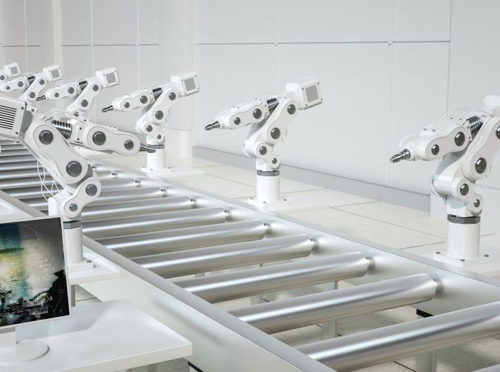 智能机器人流水线